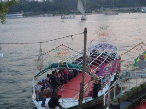 felouque, le Nil