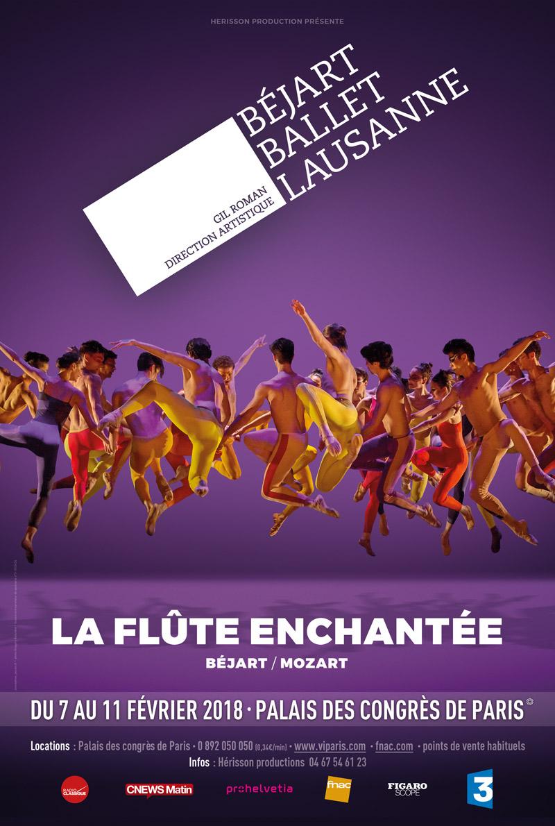La flûte enchantée ballet béjart lausanne palais congrès paris