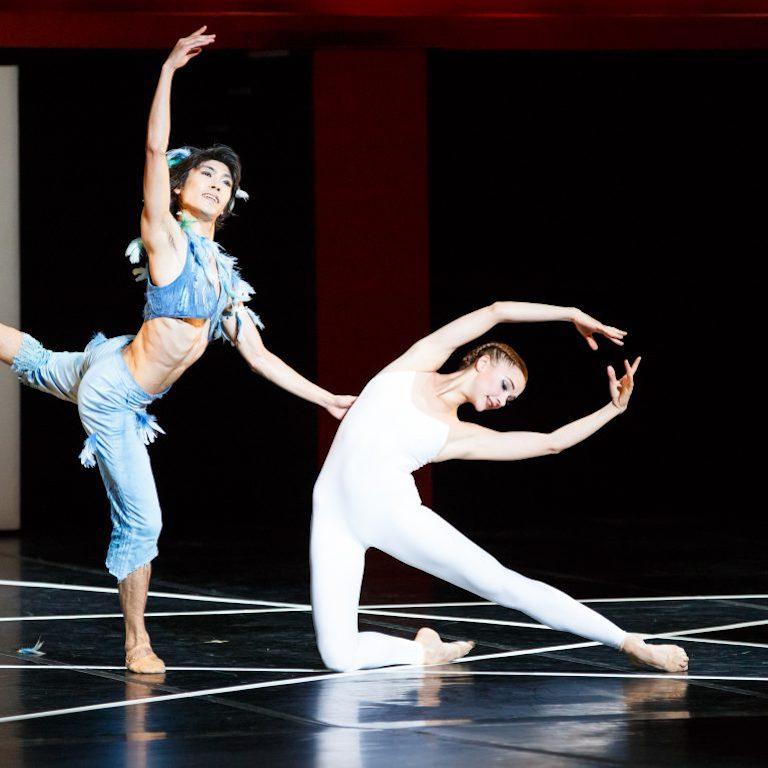 ballet bejart lausanne la flute enchantee