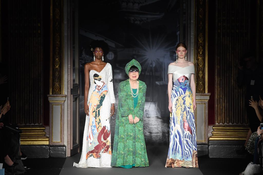 Défilé Yumi Katsura au Westin Paris – Vendôme
