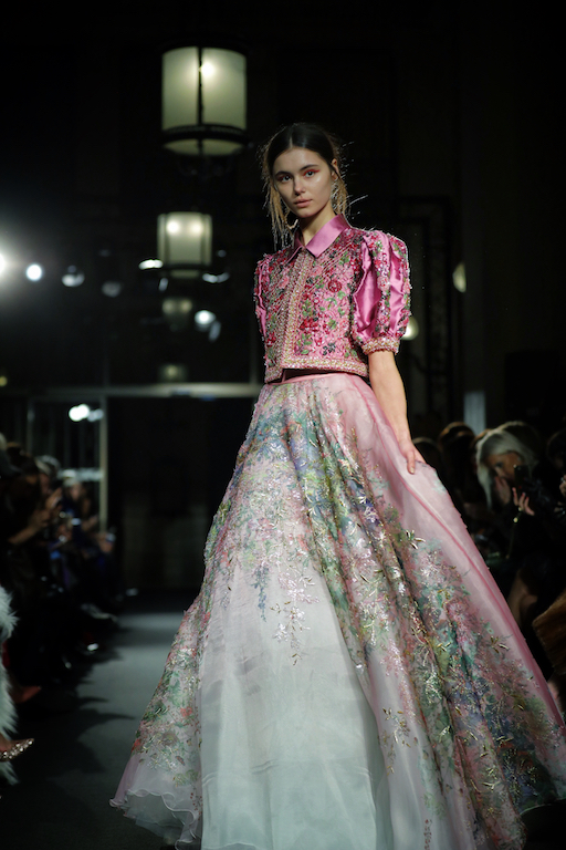 Dany Atrache créateur libanais à la Paris Fashion Week 2018