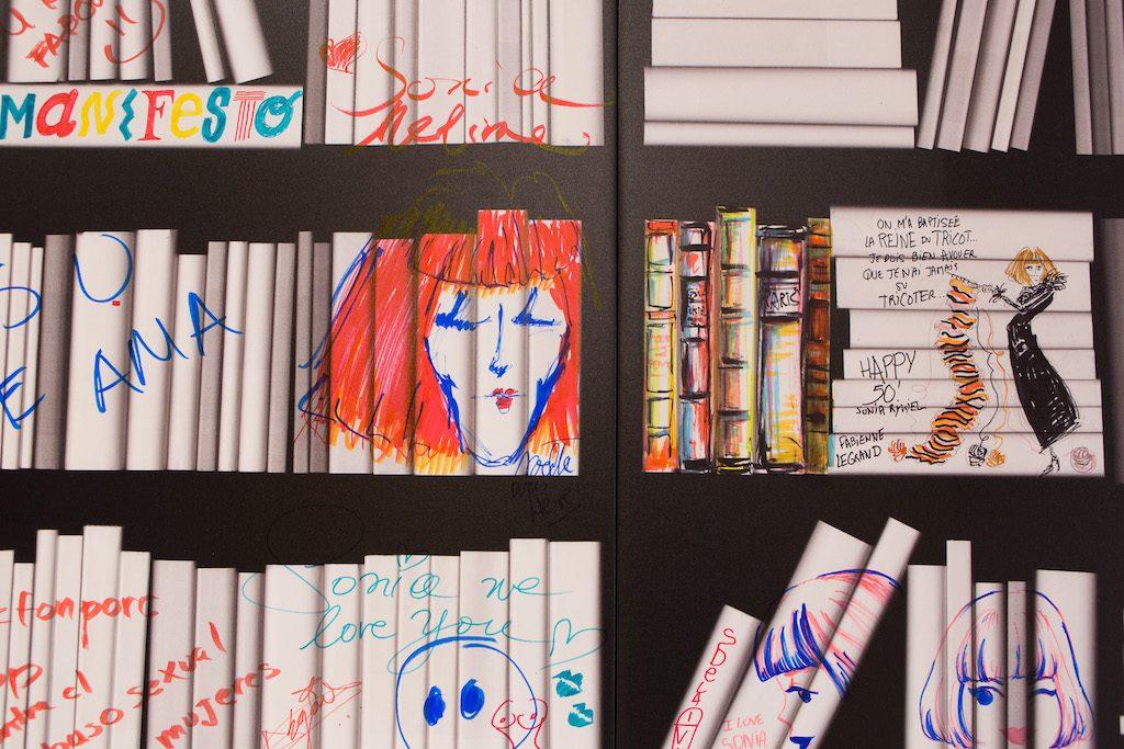 Manifesto célébration des 50 ans de Sonia Rykiel avec Winsor et Newton