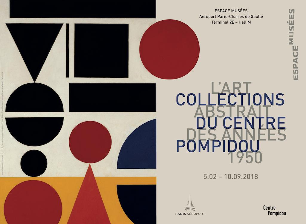A partir du 5 février, le Centre Georges Pompidou investit l'Aéroport de Paris Charles de Gaulle