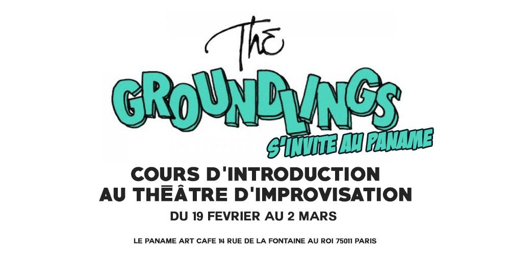 the groundlings au Paname art café