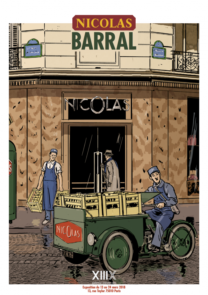 Exposition des dessins de Nicolas Barral