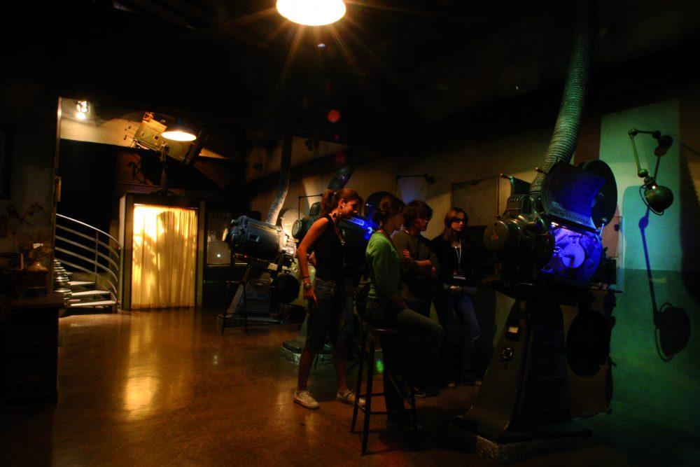 grand rex studio, sortie en famille, coulisses du 7ème art