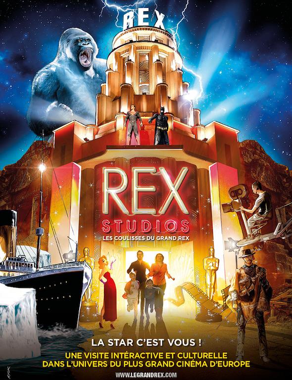REX STUDIO : Sortie en famille dans la magie du 7ème Art!