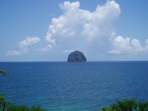 Martinique, rocher du diamant