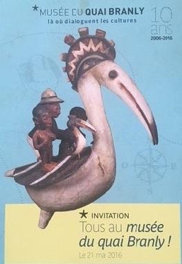 Invitation au Musée du Quai Branly