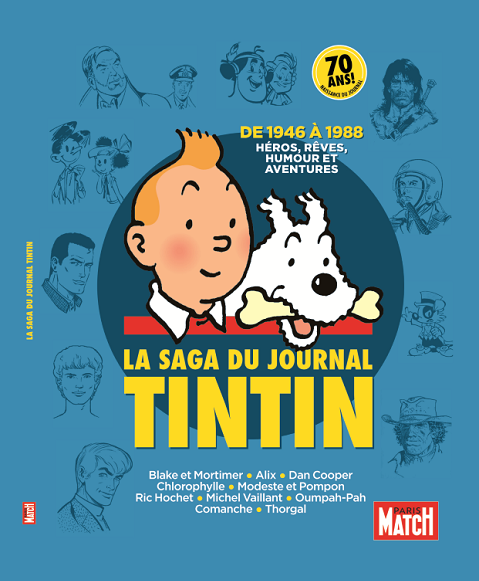 Paris Match invite Tintin