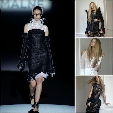 MALNE une nouvelle marque espagnole portée par deux grands noms de la mode