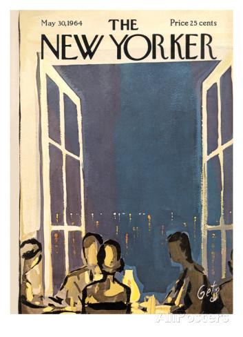 Calendrier de l'Avent J-6 : la couv' du magazine The New Yorker du 30 mai 1964 …