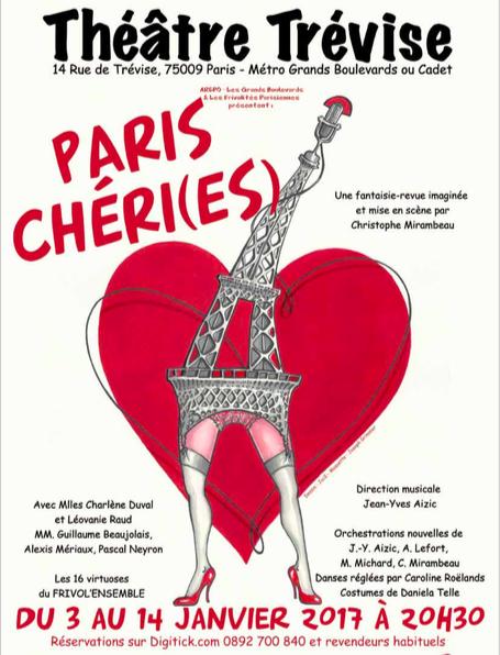 J'ai vu… Paris Chéri(es) au théâtre Trévise
