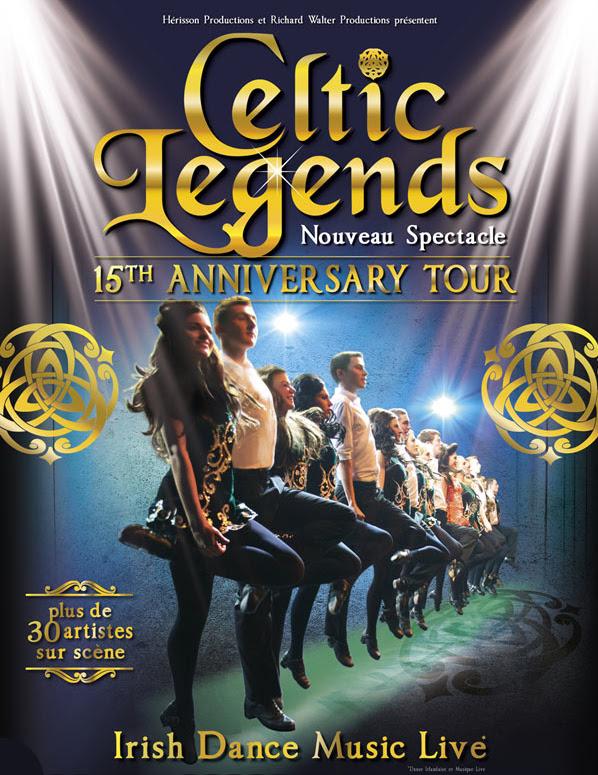 Celtic Legends, l'un des spectacles dédiés à la culture celtique les plus réputés, célèbre ses quinze ans lors d'une tournée événement à Paris et partout en France.
