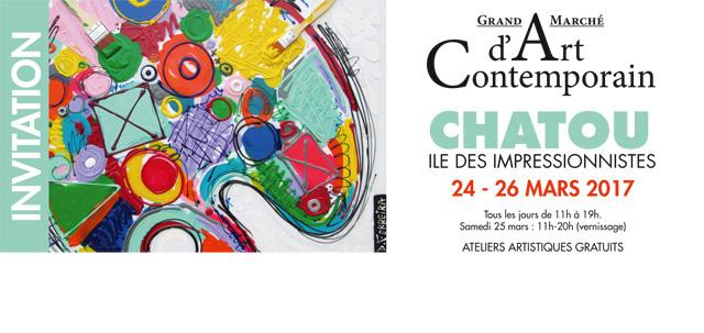 Grand Marché d'Art Contemporain de Chatou