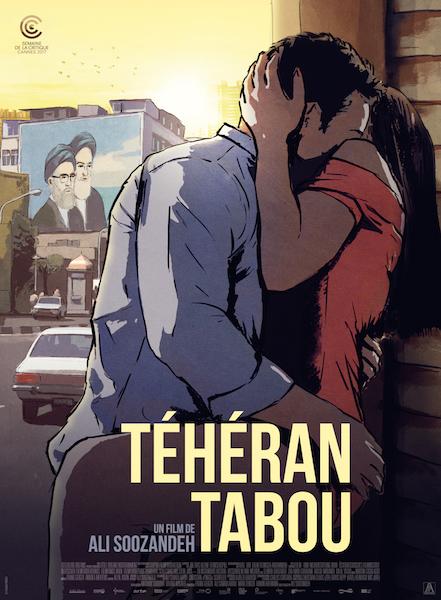 Téhéran Tabou d'Ali Soozandeh
