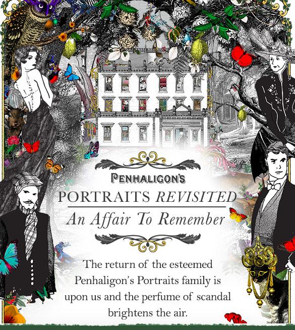 Portraits de Penhaligon's… mais qui sont les 4 nouveaux?