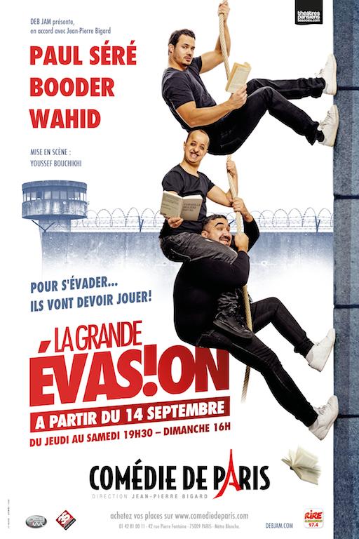 La Grande Evasion à la Comédie de Paris