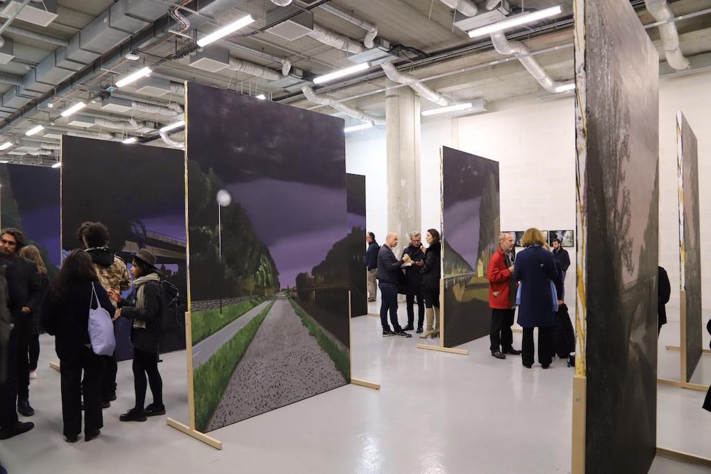Icade-Art, résidence d'artistes, fin de la première session