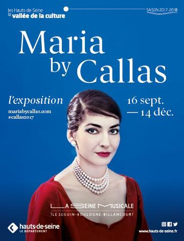 Maria By Callas, première exposition temporaire de La Seine Musicale.