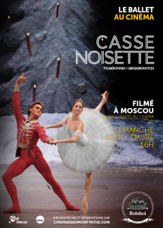 CASSE-NOISETTE dimanche 17 décembre dans les cinémas Gaumont et Pathé