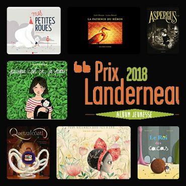Sélectionnés pour le Prix Landerneau 2018