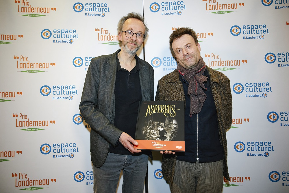 Didier Lévy et Pierre Vaquez, grands gagnants du Prix Landerneau Album Jeunesse 2018