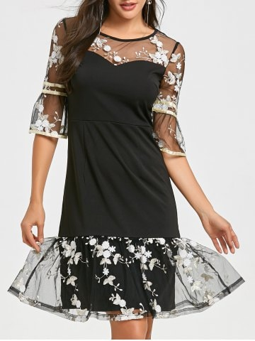 rosegal-mode-plus-size-robe-transparente