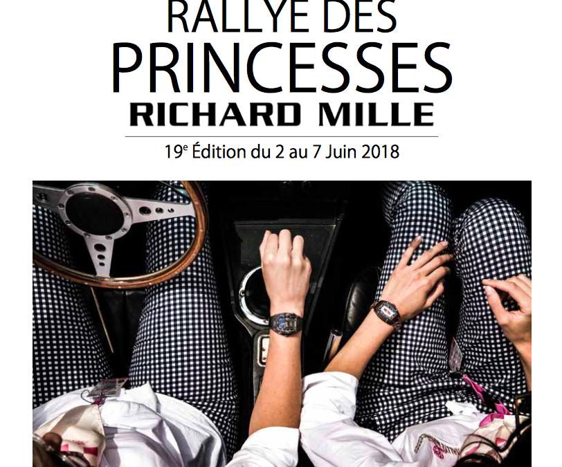 Départ du 19ème Rallye des Princesses Richard Mille