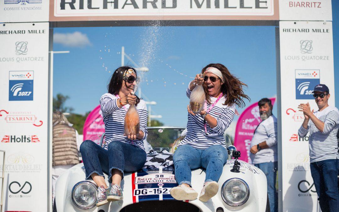 Arrivée du Rallye des Princesses à Biarritz !