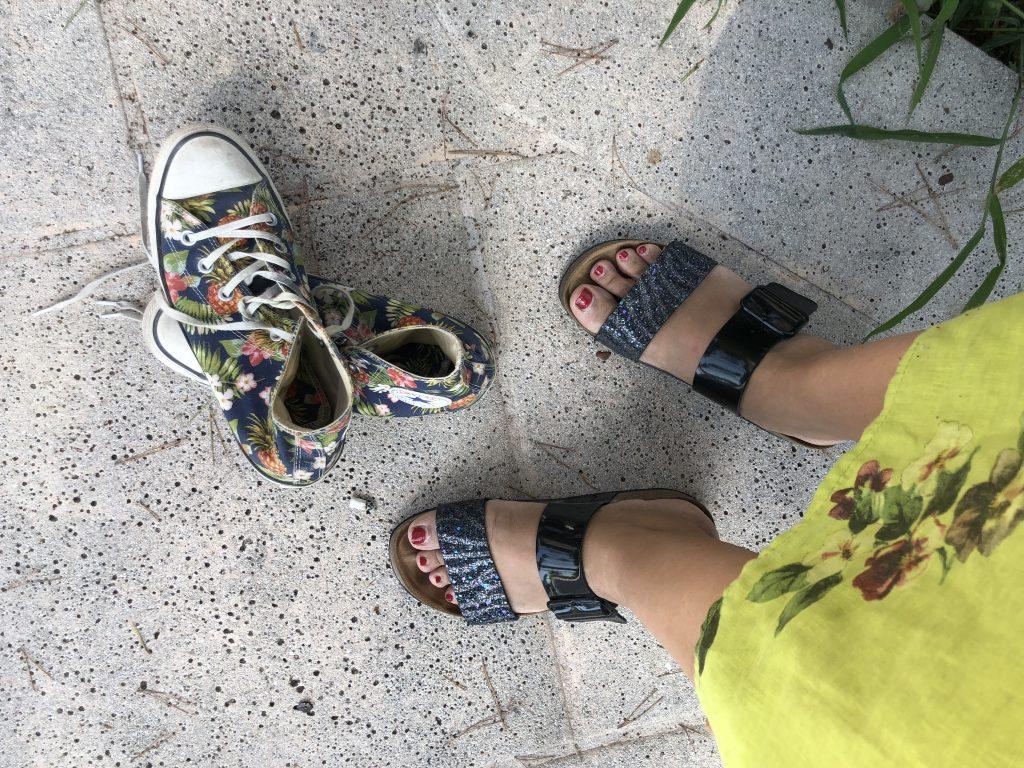 pieds-converses