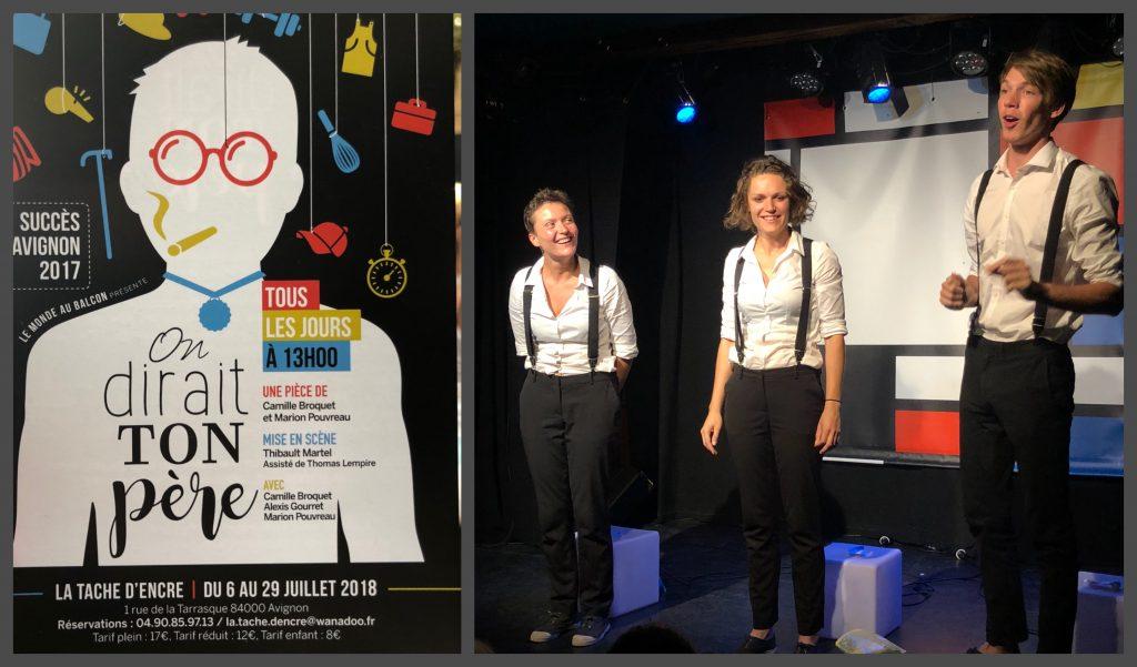 On-dirait-ton-père-Camille-Broquet-Marion-Pouvreau-Festival-Avignon-2018