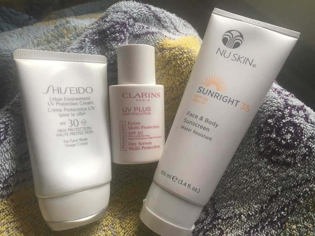 shiseido-clarins-protection-solaire