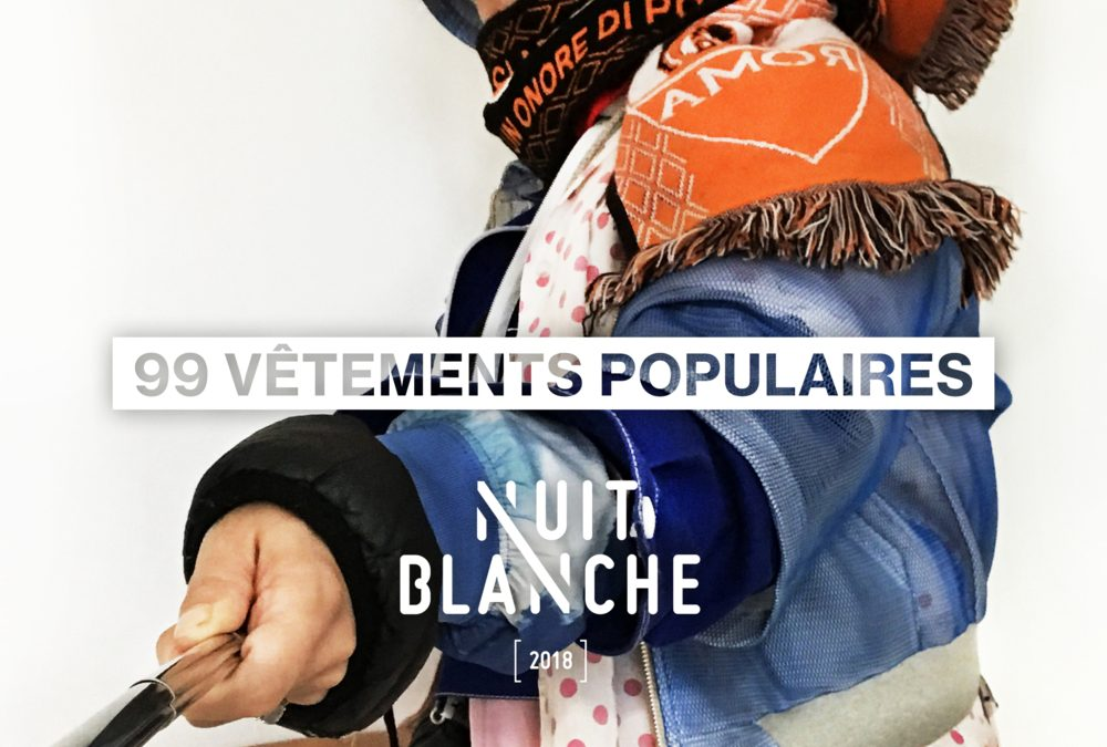 Nuit Blanche et le Bon Coin présentent le défilé « 99 vêtements populaires »