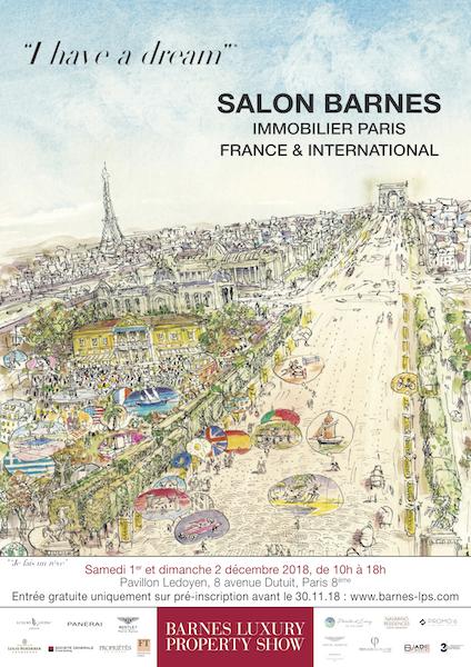 BARNES INTERNATIONAL REALTY PRÉSENTE LE SALON DE L'IMMOBILIER DE PRESTIGE