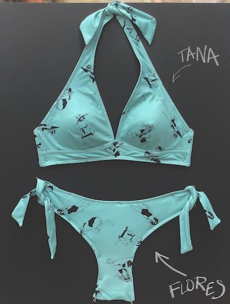 GIRLS la collection Beachwear Isabelle Oziol de Pignol X Les Ultraviolettes - LUV x IOP