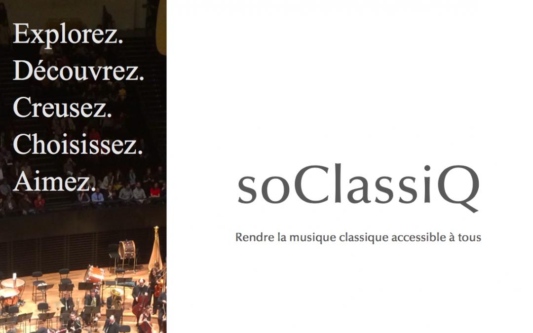 Lancement de soClassiQ
