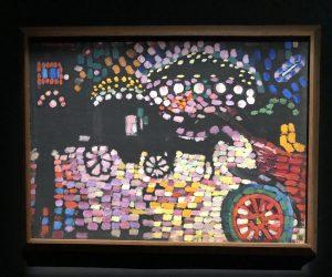 Robert Delaunay LE FIACRE PAYSAGE NOCTURNE 1906-1907