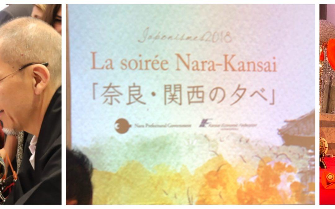 La soirée Nara-Kansai/Japon aux Salons Hoche.