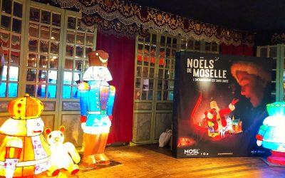 PRÉSENTATION DES NOËLS DE MOSELLE AU MUSÉE DES ARTS FORAINS À PARIS