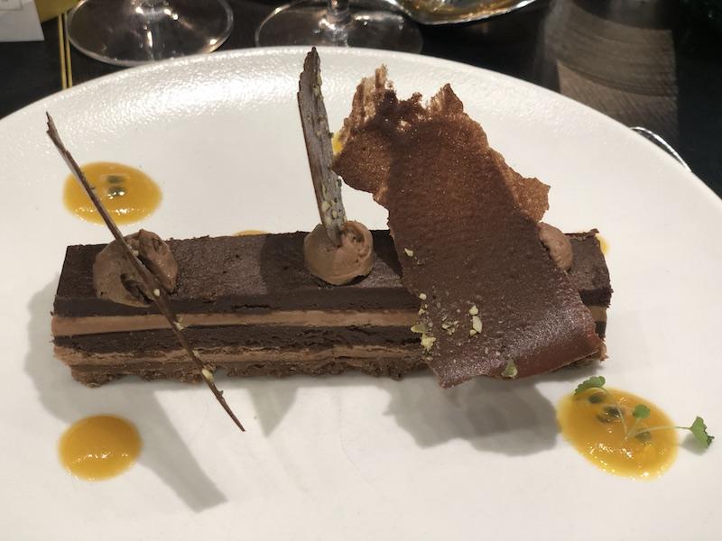 Dessert Ganache chocolat xavier pauly