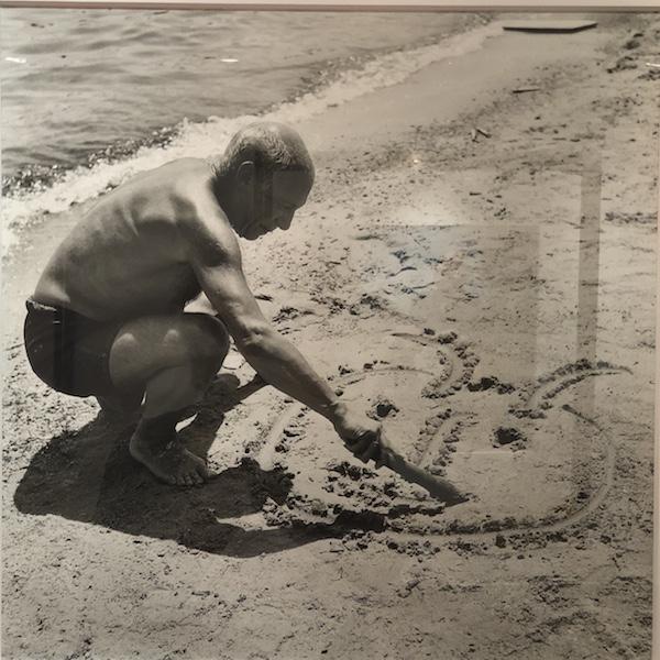 Picasso dans l'oeil de Willy Rizzo