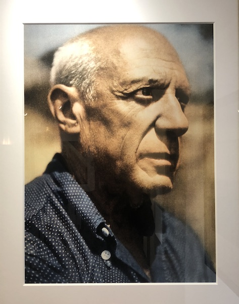 zenitude profonde le mag Picasso dans l'oeil de Willy Rizzo