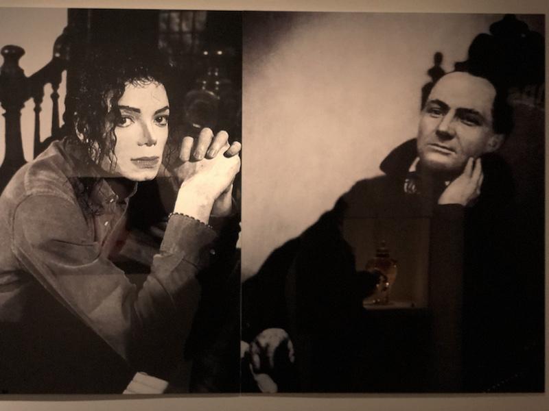 MICHAEL JACKSON ET CHARLES BAUDELAIRE - EXPOSITION ON THE WALL PARIS