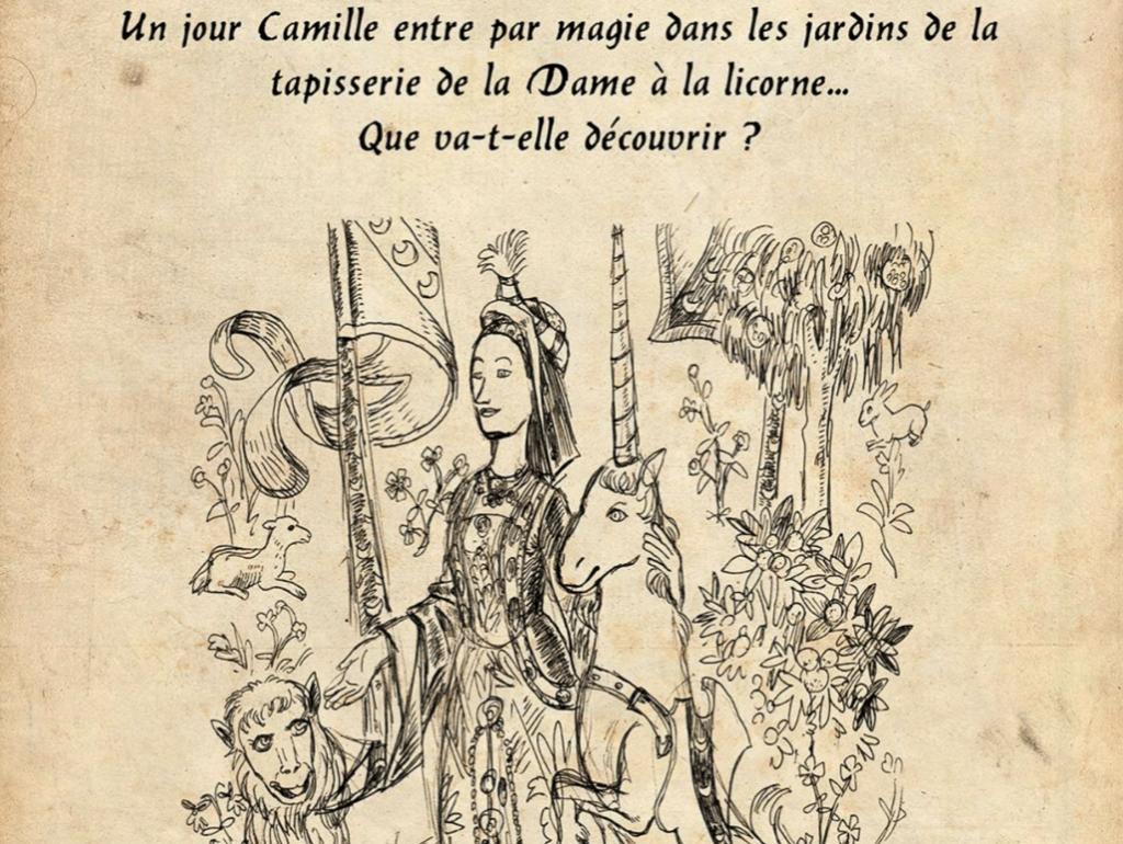 Zenitude Profonde Le Mag Affiche Les jardins secrets de la dame à la licorne