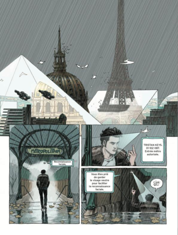 PARIS 2119, LE NOUVEL ALBUM DE ZEP ET DOMINIQUE BERTAIL Zenitude Profonde Le Mag