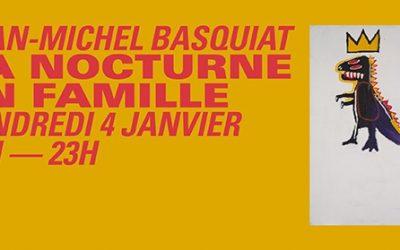 Nocturne en écho à  l'expo Jean‑Michel Basquiat à la Fondation Louis Vuitton
