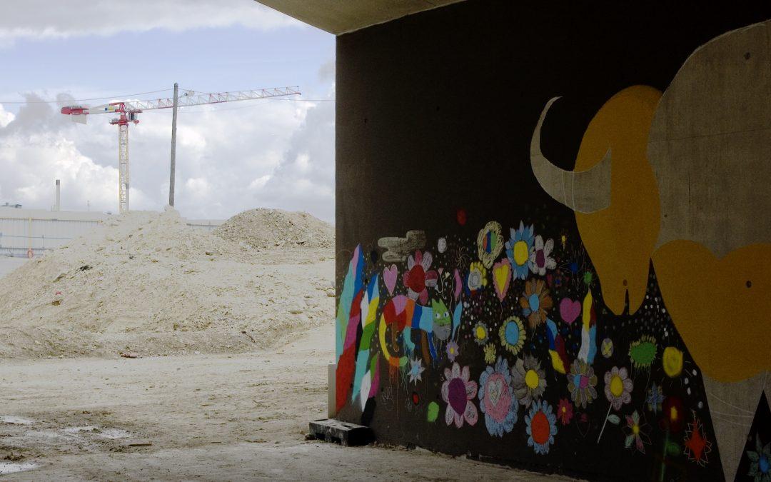 Urbanisation: des œuvres d'art pour dynamiser un quartier de Nanterre