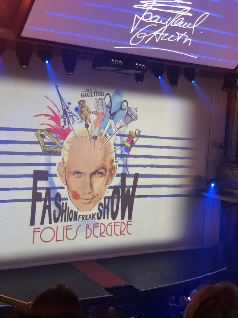 Fashion Freak show - Jean paul Gaultier -FoliesBergère