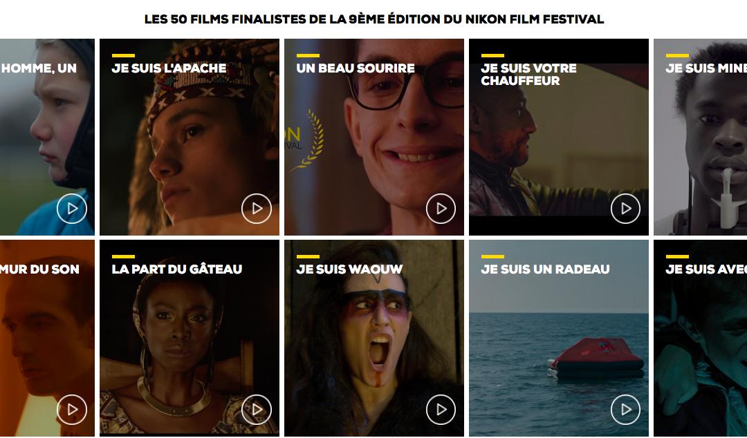 LES 50 FILMS FINALISTES DE LA 9ÈME ÉDITION DU NIKON FILM FESTIVAL